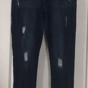 7for all mankind. Skinny Boyfriend jeans.
